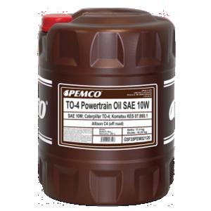 PEMCO TO-4 Powertrain Oil SAE 10W