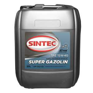 SINTEC Super Gazolin SAE 15w40 API SG/CD