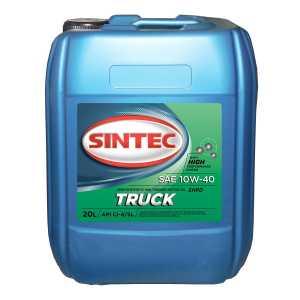 SINTEC TRUCK SAE 10w40 API CI-4/SL