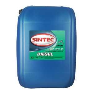 SINTEC Diesel CF-4 SAE 20w50 API CF-4/CF/SJ