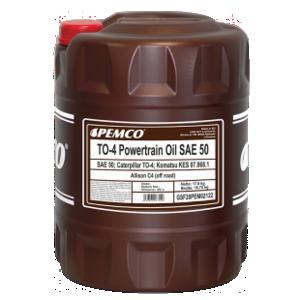 PEMCO TO-4 Powertrain Oil SAE 50