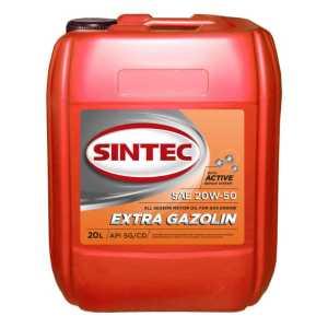SINTEC Extra Gazolin SAE 20w50 API SG/CD