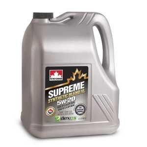 SUPREME SYNTH BLEND XL 5W-20 4X4L CASE