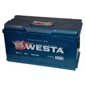 WESTA 6СТ - 92 АЕ